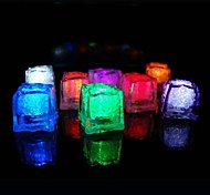 baratos -Diodo emissor de luz 36pcs Cor Alterando cubos de gelo Natal Wedding Party Bar Restaurante