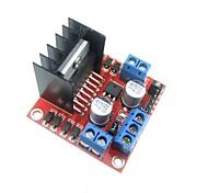 Недорогие -L298N Двойной Н мост Драйвер шагового двигателя контроллер совета модуль для Arduino UNO MEGA R3 Mega2560 Duemilanove Nano Robot