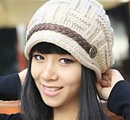 Women Shearling Hat , Cute/Casual Winter