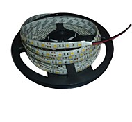 cheap -Flexible LED Light Strips 300 LEDs White Cuttable Waterproof Self-adhesive Linkable DC 12V