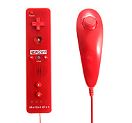 cheap -2-in-1 MotionPlus Remote Controller and Nunchuk for Wii/Wii U Free Shipping