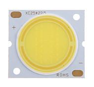 Недорогие -15W COB 1350-1450LM 6000-6500K Холодный белый свет Светодиодные Чип (45-50V, 300uA)