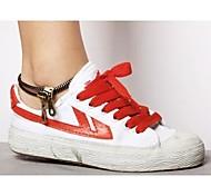 Lureme®Retro Double Zipper Anklet\