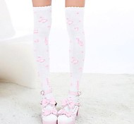 Socks/Stockings Sweet Lolita Lolita Princess Lolita Accessories Stockings Print For Nylon