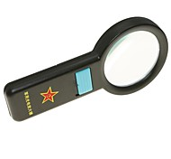 Handheld 67mm 5X Magnifier with 10-LED Illumination