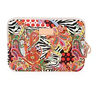National Trend Big Red Flower Notebook Sleeve for iPad 13 inch 14 inch 15 inch Laptop Bag