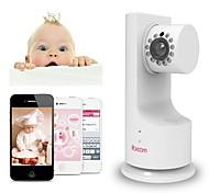 ibcam сети IP камера домашней беспроводной безопасности Wi-Fi для ребенка с p2p воспроизведения музыки двустороннюю беседу