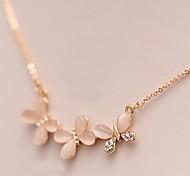 Women's Opal Flower Animal Shape Butterfly Opal Costume Jewelry Jewelry For