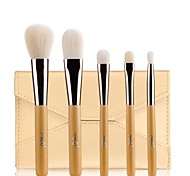 MSQ®5PCS Professional Golden Handle Makeup Brush With Free Case