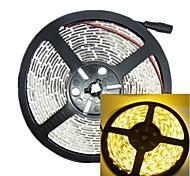 Недорогие -5м 30w 300led 3528smd 635-700nm dc12v IP68 водонепроницаемый полосы светло-желтого