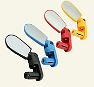 cheap -Bar End Bike Mirror / Rearview Mirror Waterproof, Adjustable, 360°Rolling / Rotatable Cycling / Bike ABS Yellow / Red / Blue