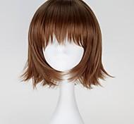 Cosplay Wigs Tokyo Ghoul Cosplay Brown Short Anime Cosplay Wigs 30 CM Heat Resistant Fiber Female