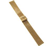 Hombre Mujer Correas de Reloj Acero Inoxidable #(0.047) #(16.5 x 2 x 0.3) Accesorios Reloj