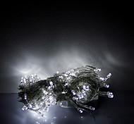 10m 100 leds halloween декоративные огни праздничные полосы огни - обычная белая световая цепочка (220v)