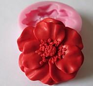 baratos -Molde Flor Chocolate Biscoito Bolo Silicone Amiga-do-Ambiente Faça Você Mesmo Dia dos namorados