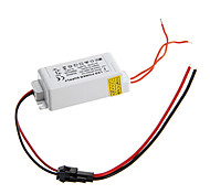 cheap -0.3A 4-7W DC 10-25V to AC 85-265V External Constant Current Power Supply Driver for LED Panel Lamp