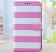 For Samsung Galaxy Note Card Holder / with Stand / Flip / Pattern Case Full Body Case Lines / Waves PU Leather Samsung Note 3