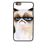 Недорогие -несчастной кошки стиль пластик жесткий задняя крышка для iPhone 6 Plus