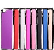 твердый образец цвета гладкая поверхность металлической щеткой жесткий заднюю крышку для iPhone 6 (разных цветов)