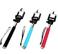 economico -bluetooth selfie bastone estensibile con per iphone 8 7 ss7 ss galassia samsung per ios / telefono android huawei xiaomi nokia