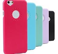 Für iPhone 6 Hülle / iPhone 6 Plus Hülle Muster Hülle Rückseitenabdeckung Hülle Einheitliche Farbe Hart PCiPhone 6s Plus/6 Plus / iPhone