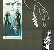 Jewelry Inspired by Final Fantasy Lightning Anime/ Video Games Cosplay Accessories Necklace Silver Alloy Male / Female