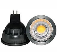 1pc gu5.3 (mr16) светодиодный прожектор a60 (a19) cob 500lm теплый белый 2800-3000k диммируемый декоративный dc 12v