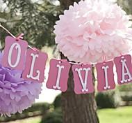 14 дюймовые бумаги цветок Декорации для вечеринок - набор из 4 (больше цветов)