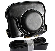 Dengpin® Leather Detachable Protective Camera Case Bag Cover Charging Style with Shoulder Strap for Canon PowerShot G16