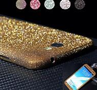 Недорогие -блестящий алмаз дизайн порошок защитная пленка для всего тела для Samsung Galaxy Примечание 2 N7100