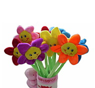 cheap -Roses Puppets Cute Pen Container Lovely Lovely Textile Plastic Plush Gift 6pcs