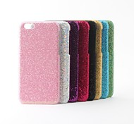 cheap -Glitter Style PVC Hard Back Case for iPhone 6 (Assoted Colors)