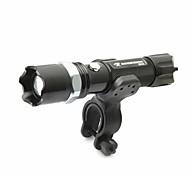 Torce LED Torce frontali Luci bici Torcia HID Torce Kit per torce Faro anteriore LED lm 5 Modo Messa a fuoco regolabile Resistente agli