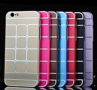 Für iPhone 6 Hülle / iPhone 6 Plus Hülle Beschichtung Hülle Rückseitenabdeckung Hülle Geometrische Muster Hart AluminiumiPhone 6s Plus/6