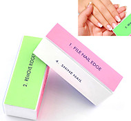 cheap -1PCS 4-Way Nail Art Buffing Block Sanding Files/Remove Ridges/Smooth Nail/Shine Nail