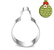 baratos -natal decoração bolha forma de bola cortador de biscoitos, l 7,6 centímetros 6,6 centímetros xw xh dois centímetros, de aço inoxidável