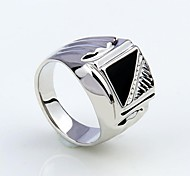 Недорогие -Муж. Массивные кольца бижутерия Искусственный бриллиант Сплав Бижутерия Назначение Для вечеринок Повседневные Новогодние подарки