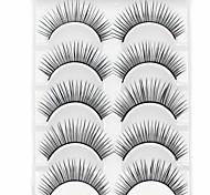 Eyelashes lash Eyelash Natural Long Volumized Natural Fiber Cosmetic Beauty Care Makeup for Face