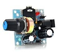 Недорогие -386 мини-аудио усилитель для arduino-светло-голубой (5 ~ 12v)