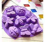 cheap -Animal For Pie For Cookie For Cake Silicone Eco-friendly DIY Christmas Mold