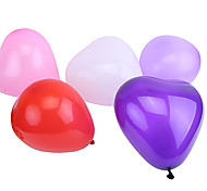Недорогие -Мячи Воздушные шары Сердце Жемчужное покрытие Большой размер Надувной Веселье Для вечеринок Классика
