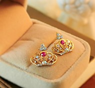 Women's Crystal Costume Jewelry Crown Jewelry For