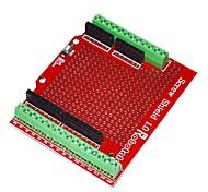 Недорогие -robotale прото винт щит для Arduino собраны - красный