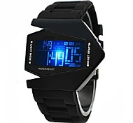 Personalized Fashionable Men's Watch Sports LED Stealth Aircraft Silicone Strap