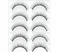 baratos -Pestana Volumizado Natural Grossa Maquiagem para o Dia A Dia Grossa Comprimento Natural Acessórios para Maquiagem Alta qualidade Diário