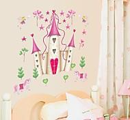 настенные наклейки Наклейки на стены, мультфильм Disney Princess замок пвх наклейки