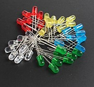 cheap -LED5MM Red, Green, Blue And Yellow Light-Emitting Diodes 10 Each, Total  50Pcs