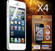 cheap -Screen Protector Apple for iPhone 6s iPhone 6 4 pcs Front Screen Protector High Definition (HD)