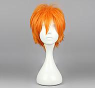 Cosplay Wigs Haikyuu Hinata Syouyou Orange Short Anime Cosplay Wigs 30 CM Heat Resistant Fiber Male
