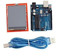 "UNO R3 Board Module + 2.4"" TFT LCD Touch Screen Shield Expansion Board for Arduino"